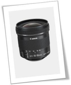 Nouvel Objectif CANON EF-S 10-18mm