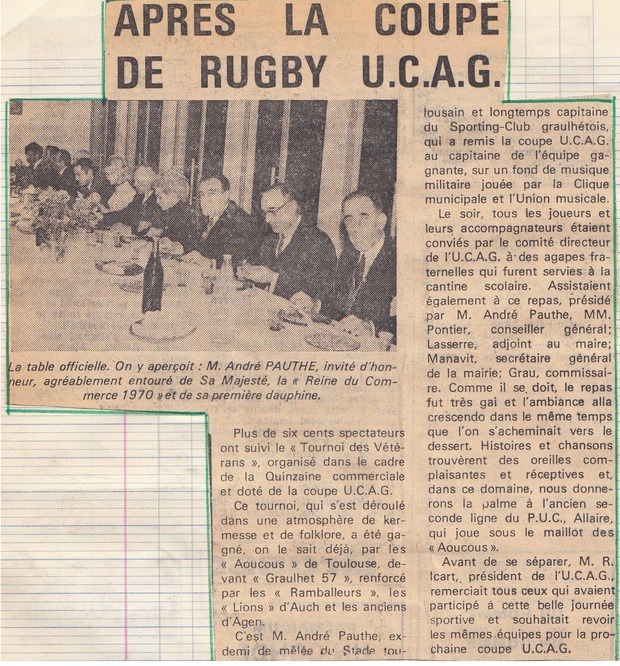 UCAG - 1953-1974