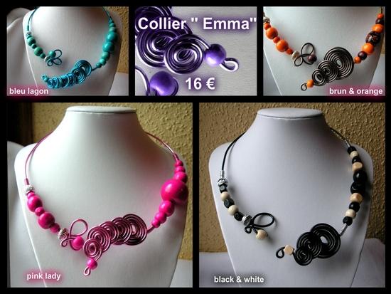 collier alu Emma