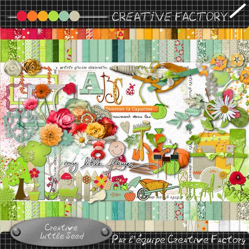 Pour la naissance de BéBé Clipperton : Creative Little Seed  CREATIVE FACTORY