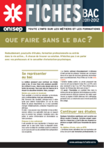 Onisep : Informations sur les métiers et les formations