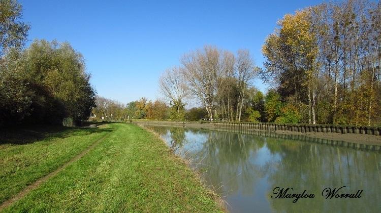 Souffelweyersheim (67) : Canal de la Marne au Rhin