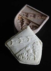 moule pour biscuit Springerle Blason de Nancy - Arts et sculpture: sculpteur sur bois
