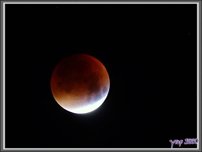 Eclipse totale de la Lune du 28 septembre 2015 vue de Milhas - 31