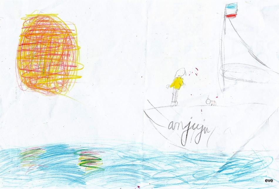 """Le bateau """"Ann'julie"""" selon Eve"""