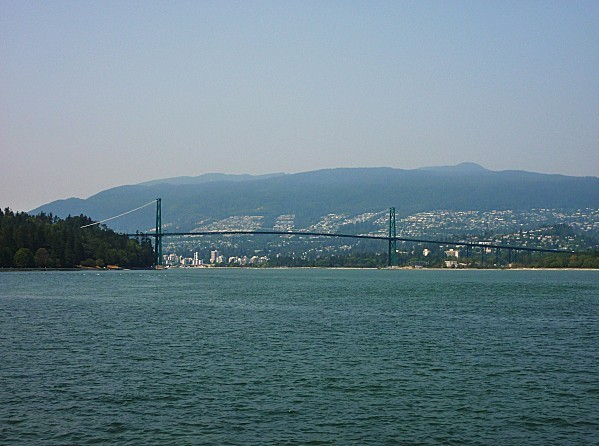 Jour 28 Stanley Park Lions Gate Bridge