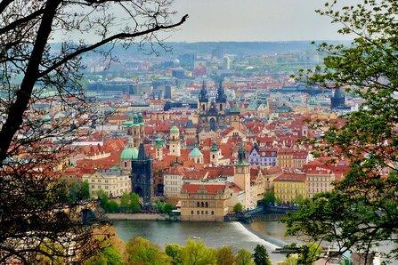 Prague, Ville, Rivière