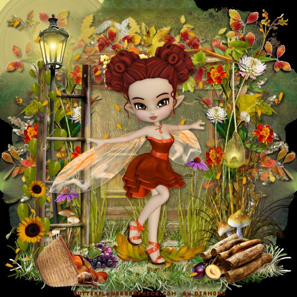 "Tutoriel ""Les Sweet Afro Autumn"" de Ziscadesign"