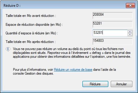 Réduire ou Augmenter la taille d'une partition NTFS (DATA,Windows,...) sans AUCUN RISQUE avec Gestion de l'ordinateur (compmgmt.msc)
