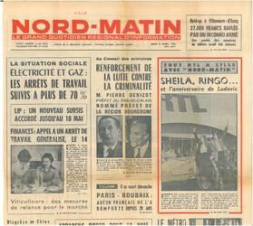07 avril 1976 : Comme un ex-prince à Lille