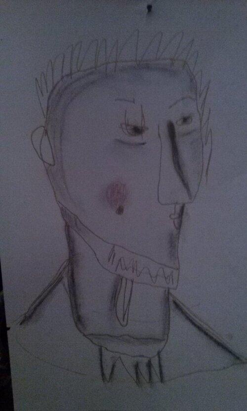 Verte de colère