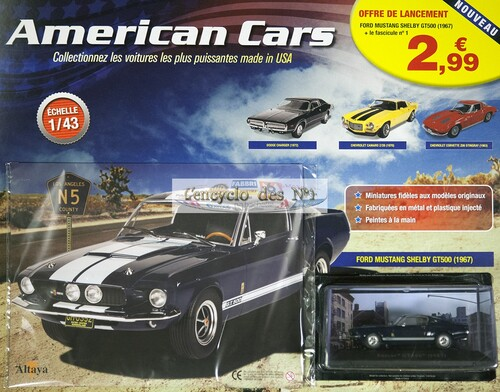 N° 1 American cars - Test