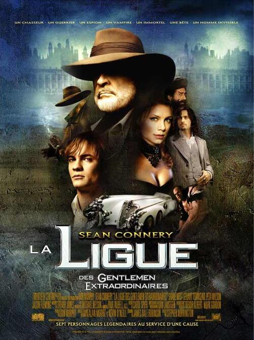 LA LIGUE DES EXTRAORDINAIRES GENTLEMENT BOX OFFICE FRANCE 2003