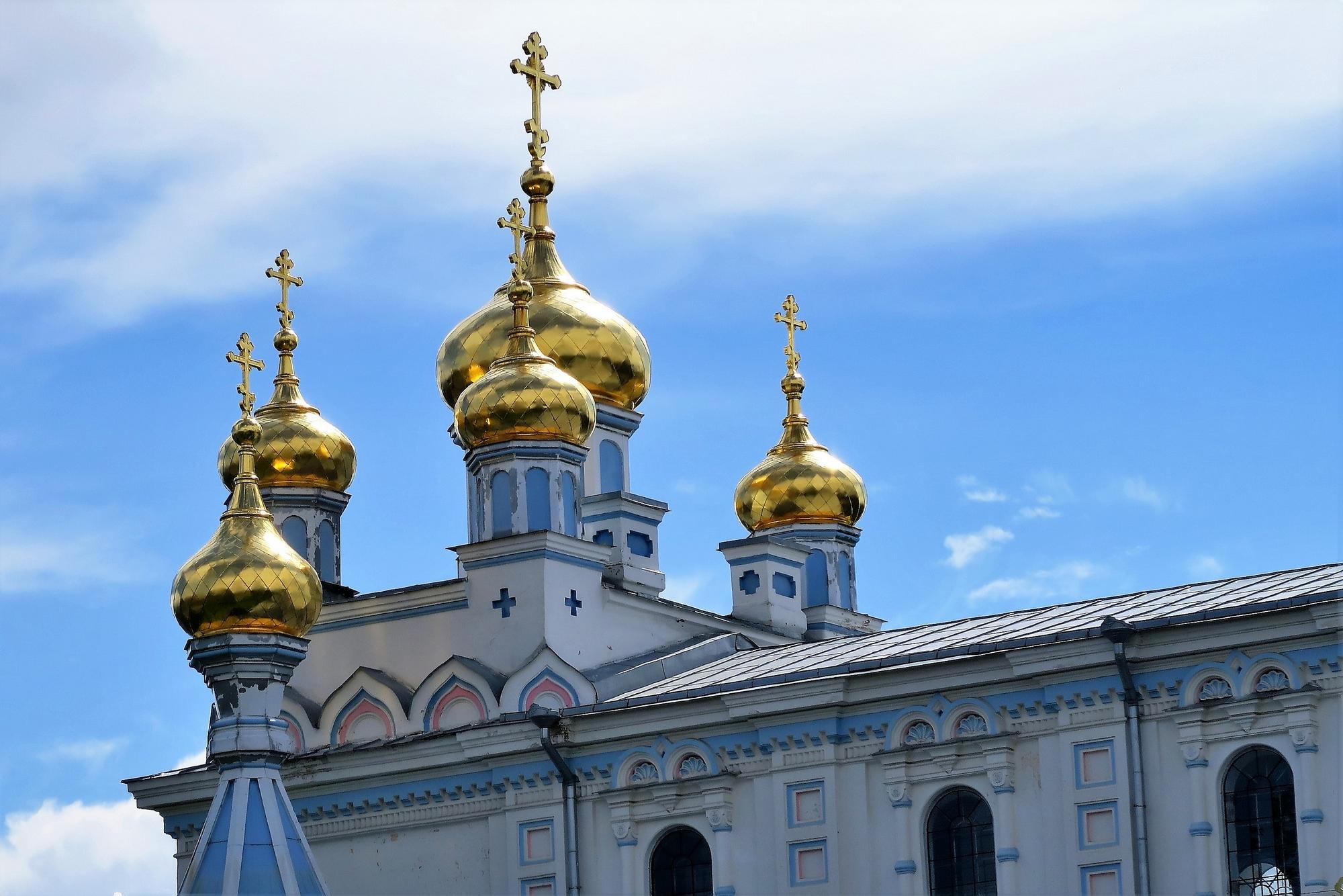 L'église orthodoxe de DAUGAVPILS (Lettonie)