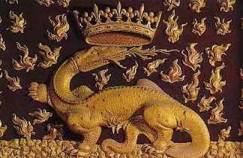 Le grand almanach de la France : La Salamandre