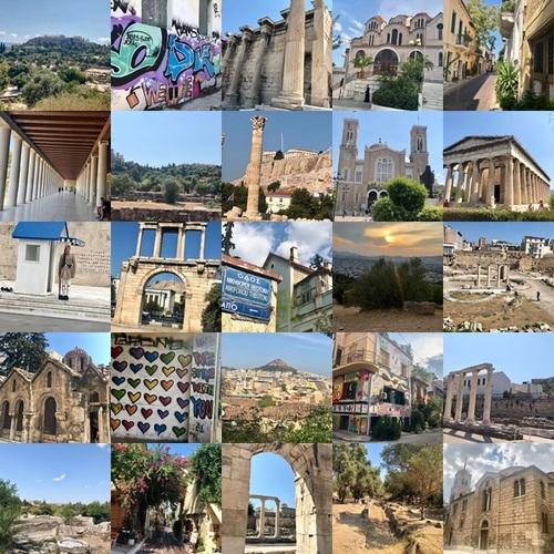 voyage en Grèce sabrina cristofe