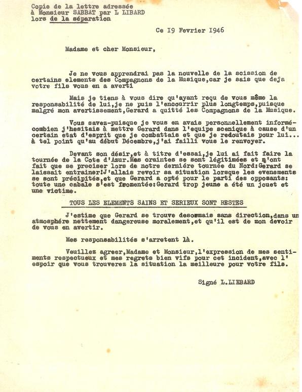 Edith Piaf, la Providence des jeunes Compagnons de la Chanson...