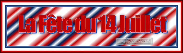 Spécial Fête Nationale - Preview tubes WordArt  1- 2 - 3