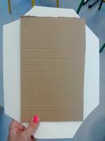 * bricolage: un porte bloc note (fête des papas)