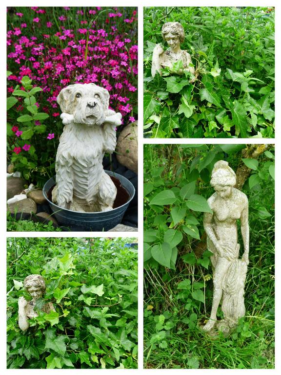 Statues au jardin