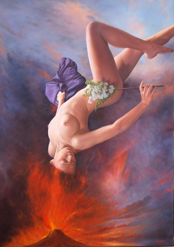 Peinture de : Ennio Montariello