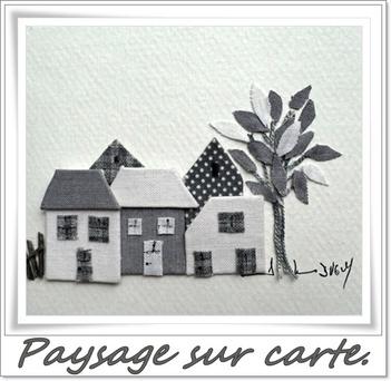 un petit village sur une jolie carte