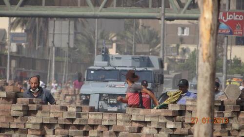 Ventes d'armes-Des blindés « made in France » utilisés pour réprimer et assassiner les opposants en Égypte (Bastamag 16/10/18)