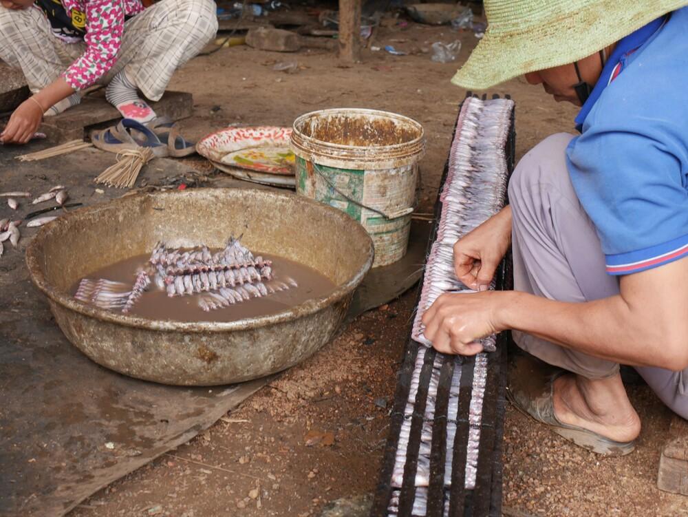 Village de pêcheurs - Cambodge