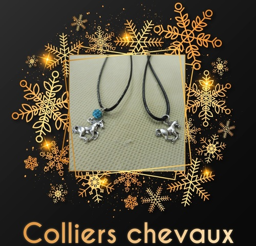 colliers chevaux