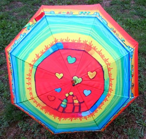 """Parapluies """"Vive la couleur !"""""""