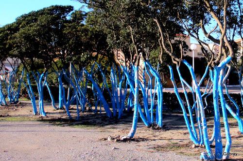 Barcarès: jardin public du Lydia ...