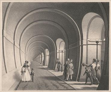Avant le tunnel sous la Manche, un tunnel sous la Tamise ...