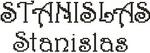 Dictons de la St Stanislas + grille prénom  !