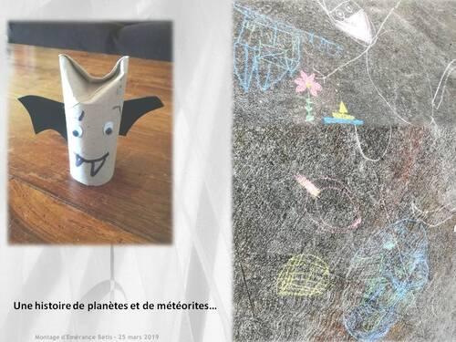 Histoire de planètes et météorites