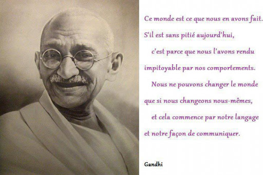Citation de Ghandi | Inform'Action