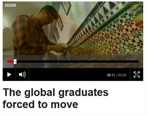 The global graduates forced to move