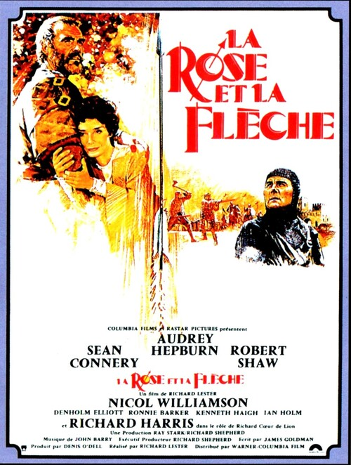 LA ROSE ET LA FLECHE (ROBIN AND MARIAN) -SEAN CONNERY BOX OFFICE 1977