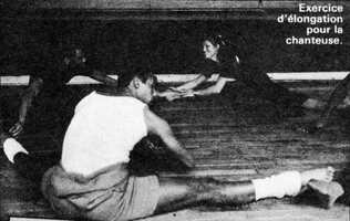 Juin 1977, entrainement avec les B.Dev'