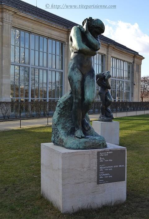 5 mars 2012 Les Tuileries Sculptures Rodin 2
