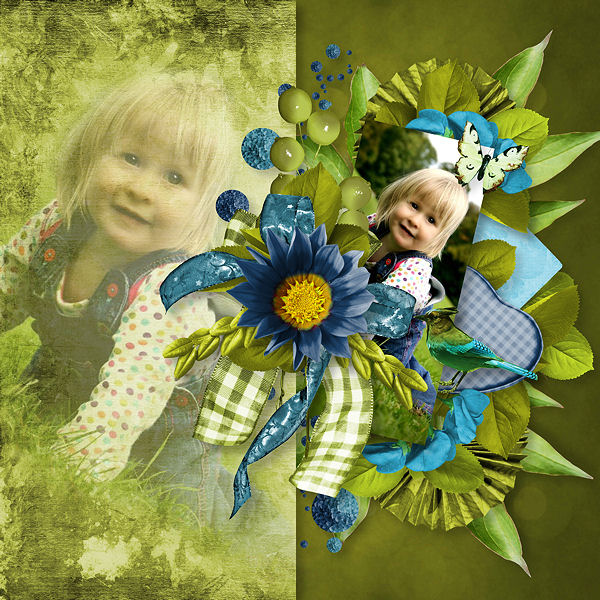 """Shades of Colors"" de Lia Scrap et Le petit Scrap"