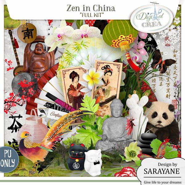 Zen in China (PU/S4H) by Sarayane