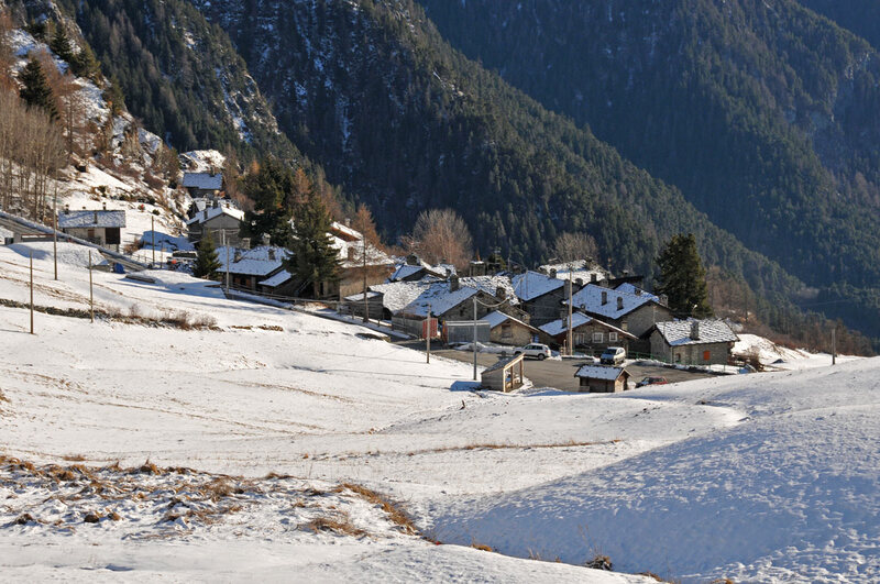 Italie : Fénilliaz l'hiver (#1)