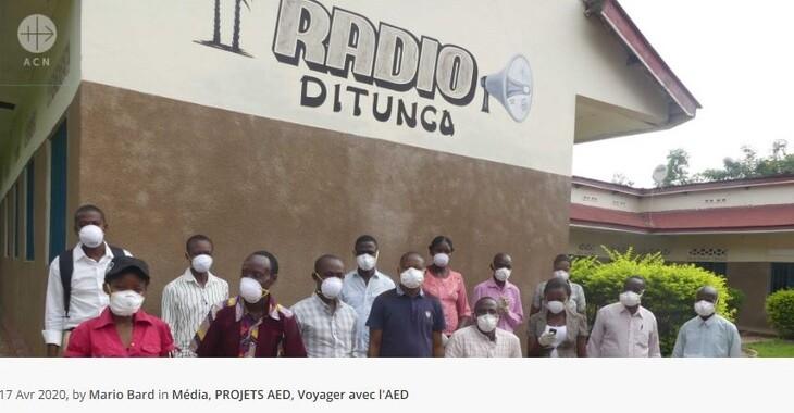 COVID-19 en Afrique les radios catholiques, porteuses d'espoir ! -AED