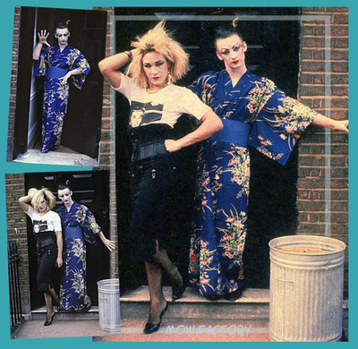 Boy George & Marilyn - 1980 - Boy George & Marilyn [Livret Biographique Salut! '83 - Fr]