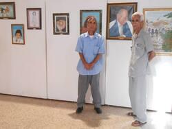 L'artiste peintre Mohammed  Saïd HACHANI