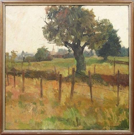 Robert Crommelynck - Paysage (1937)