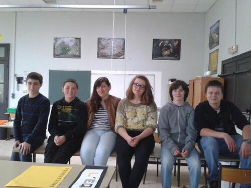 14: Les photos de notre groupe.