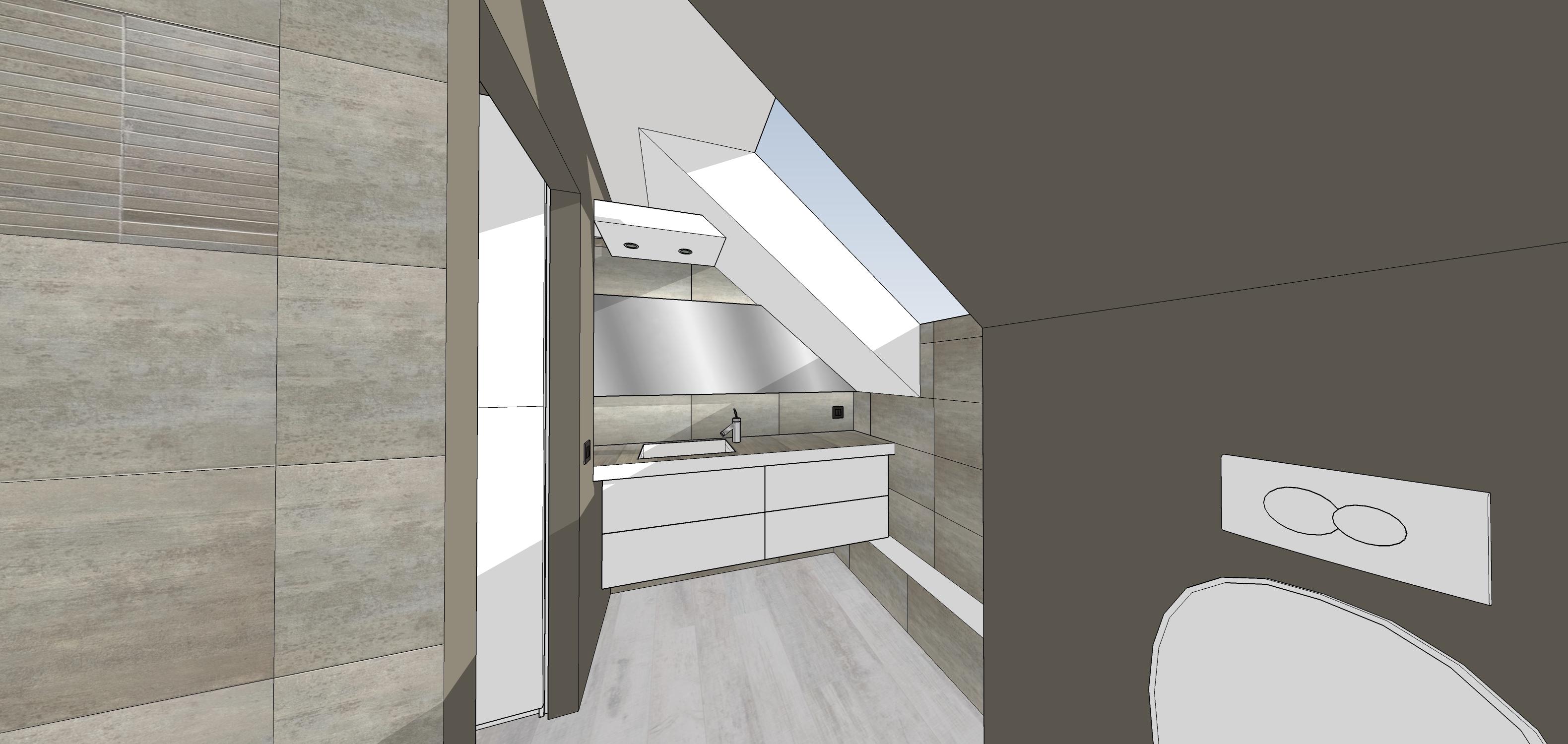 La salle de bain   construction d'une maison thomas et piron