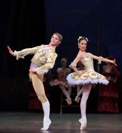 dance ballet karl paquette ludmila pagliero ballet  don quixote