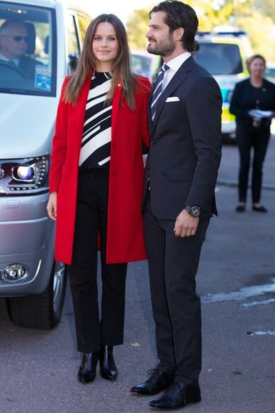 Sofia et Carl Philip en visite
